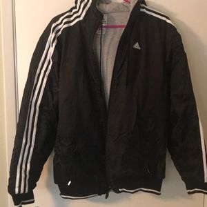 Gently Used Reversible Adidas Jacket sz Small